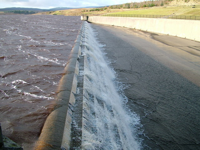 Selset Reservoir overflow