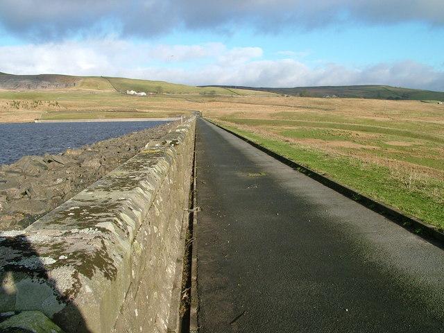Dam at Selset Reservoir