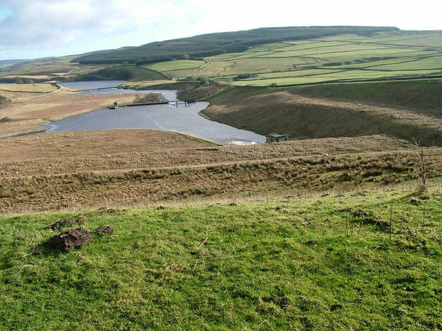 Outflow from Selset Reservoir