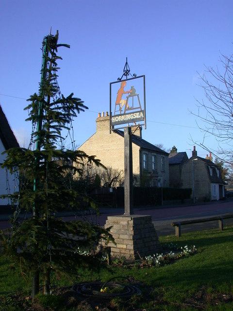 Horningsea Village Sign