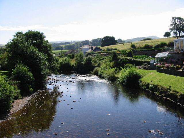 View up river from Frank's Bridge Kirkby Stephen