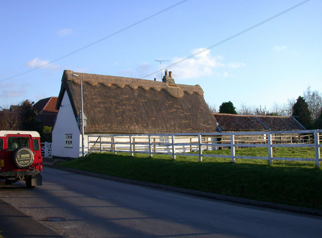 Thatched cottage, High Ditch Road