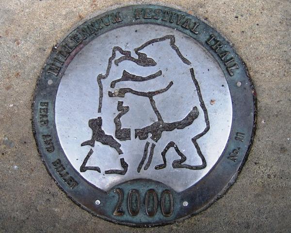 Millennium Festival Trail: Bear and Billet - No 11