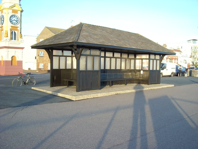 Shelter on the Promenade, Bexhill-on-Sea