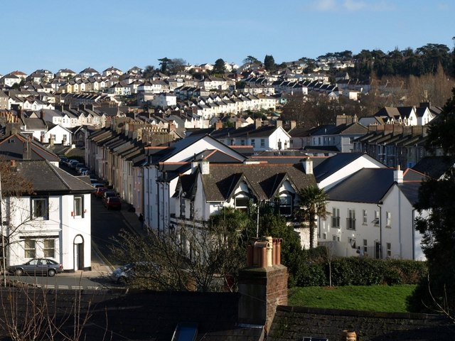 View from  Wellington Road, Torquay