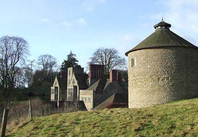 Dovecote and Shipton Hall, Shropshire