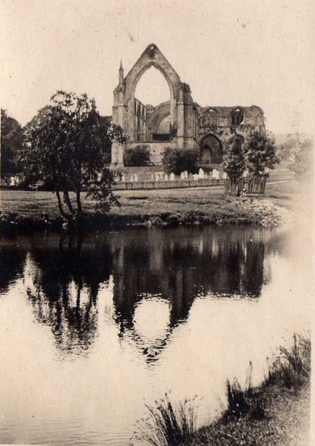 Bolton Abbey Priory taken in 1923