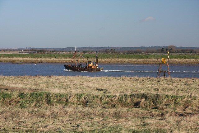 Fishing boat in Lynn Channel
