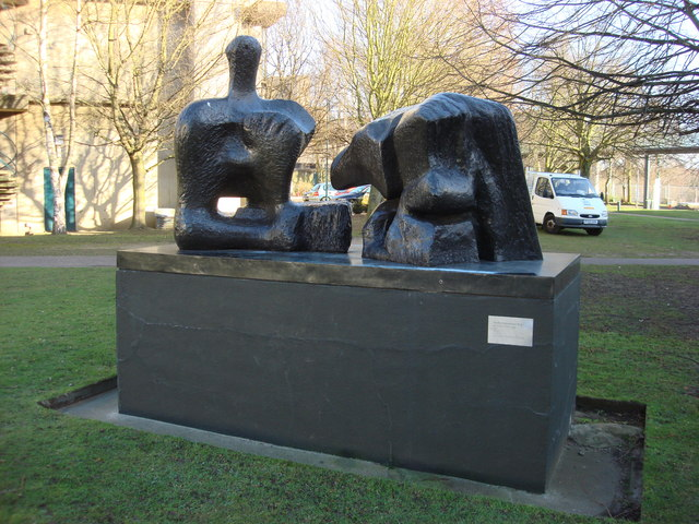 Two Piece Reclining Figure