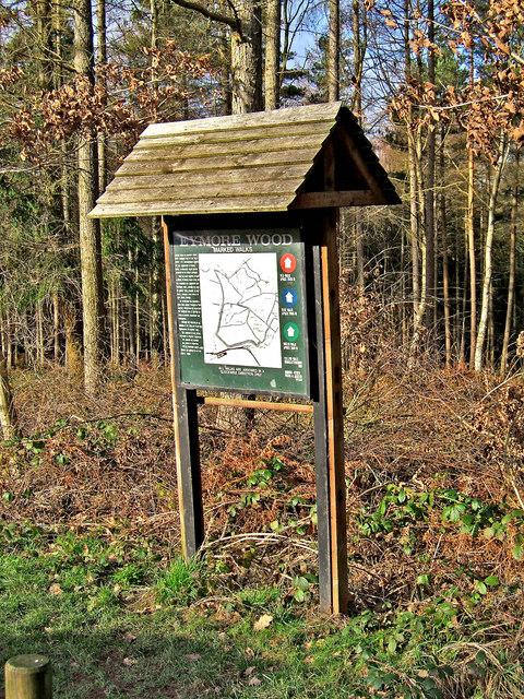 Information Board, Eymore Wood