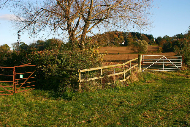 Field Gates near Abbotswood Farm, Brockworth