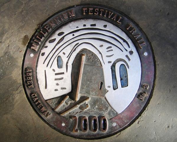 Millennium Festival Trail: Abbey Gateway - No 2