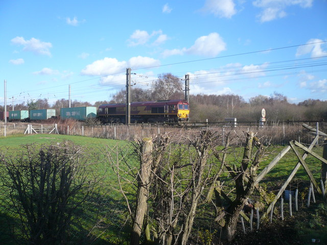 East Coast Mainline at Torworth Crossing