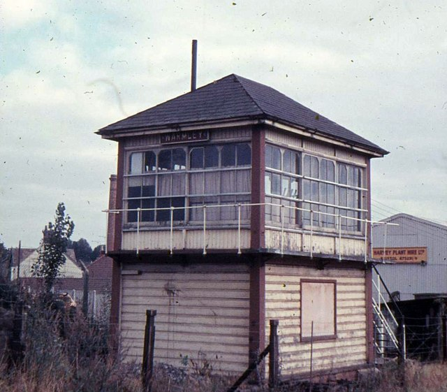 Warmley (Bristol) disused signal box