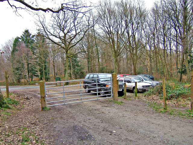 Wyre Forest public car park