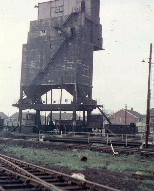 Coaling tower at Lostock Hall, Preston