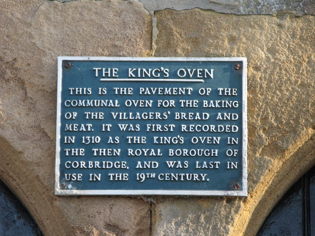 Plaque on the King's Oven