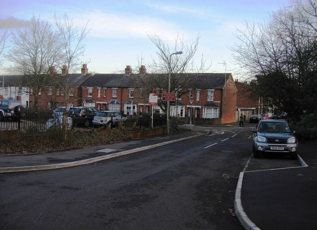 Millennium Court access road