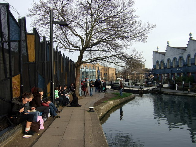 Hanging out by the canal