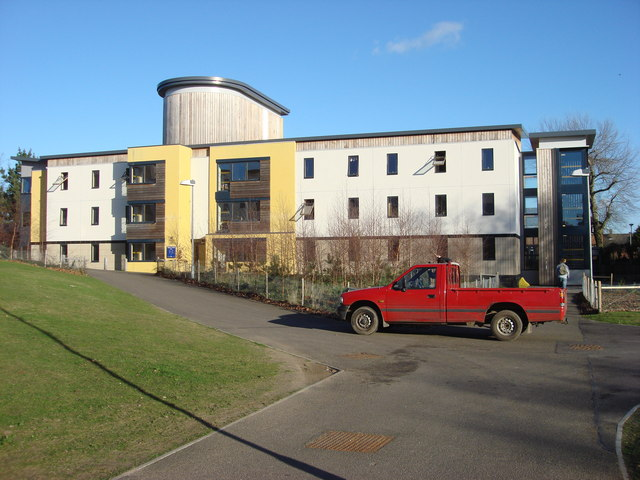 Hall of residence at the University of East Anglia