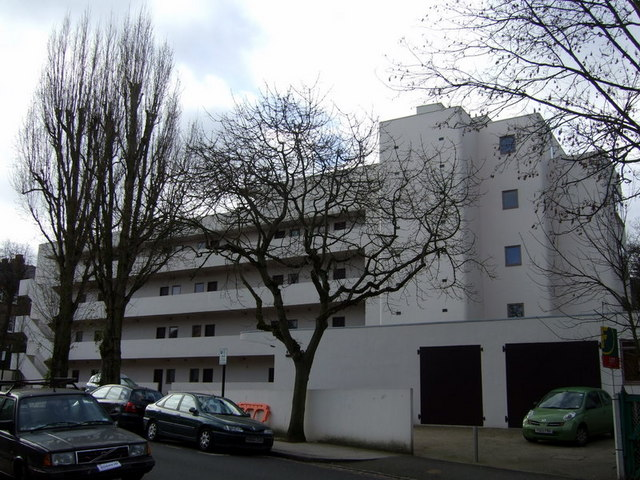 The Isokon building, Lawn Road
