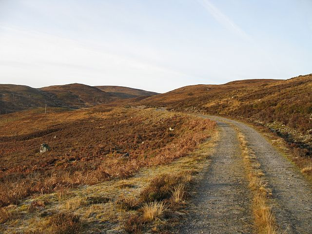 Road to Loch na Stac