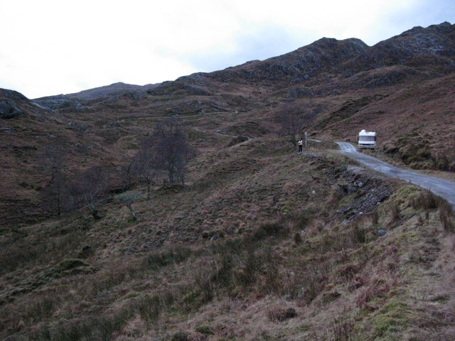Road to Kinloch Hourn