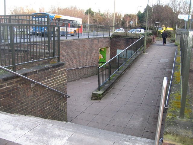 Underpass entrance - Victory Roundabout