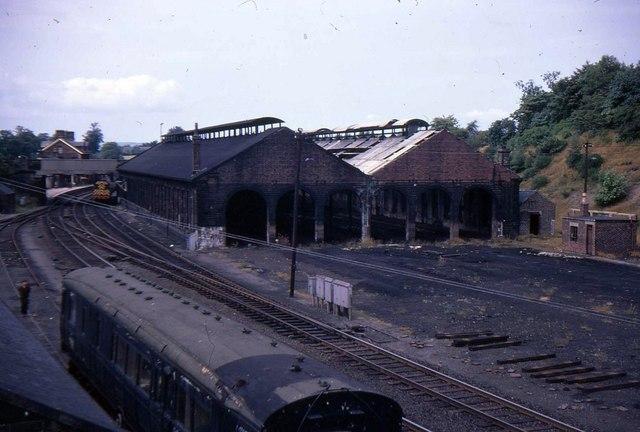Dumfries locomotive depot (disused)