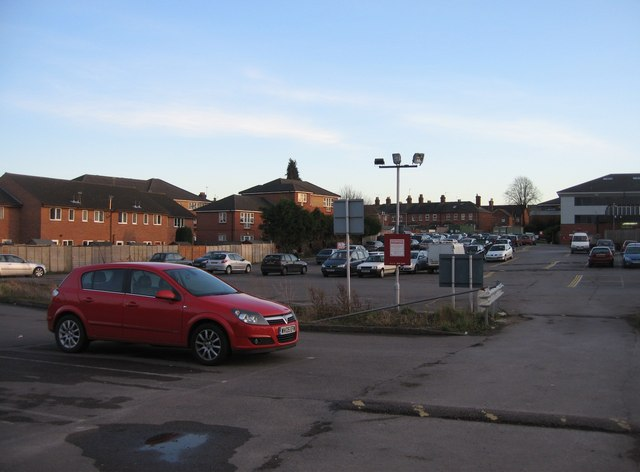 BCOT carpark & housing in Solby's Road