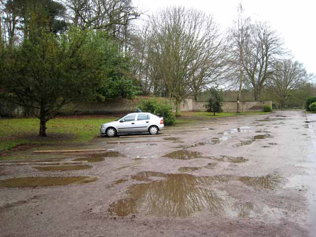 Allen Banks car park