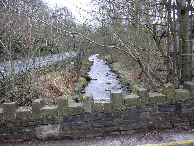 River Irwell at Broadclough