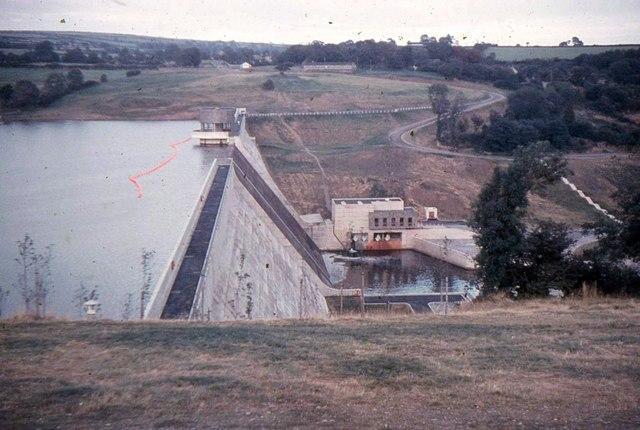 Llys-y-fran Reservoir Dam