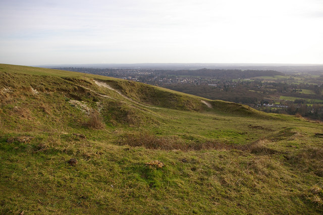 Pit on Colley Hill