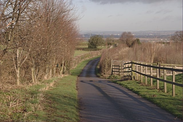 Lane to St Brides
