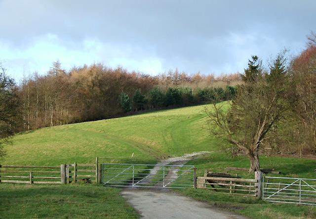 Farmland and Footpath, Shipton, Shropshire