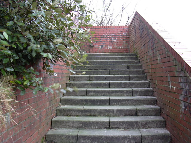 Steps to Rochdale Road