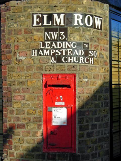 Post Box in Hampstead
