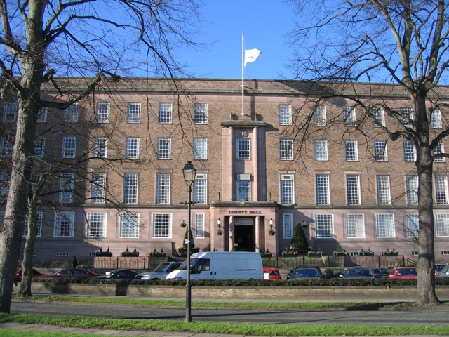 Cheshire County Council's County Hall