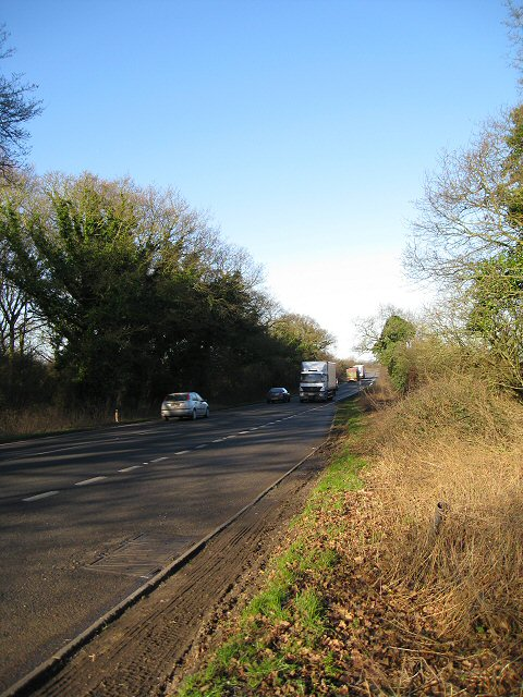The busy A47 climbing Constitution Hill