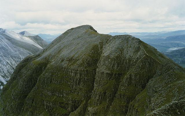 The ridge east to Stùc a' Choire Dhuibh Bhig