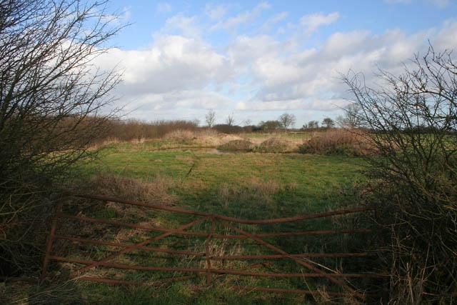 Farmland near Eaton Lodge Farm
