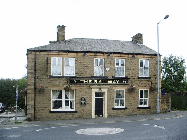 The Railway, Huncoat