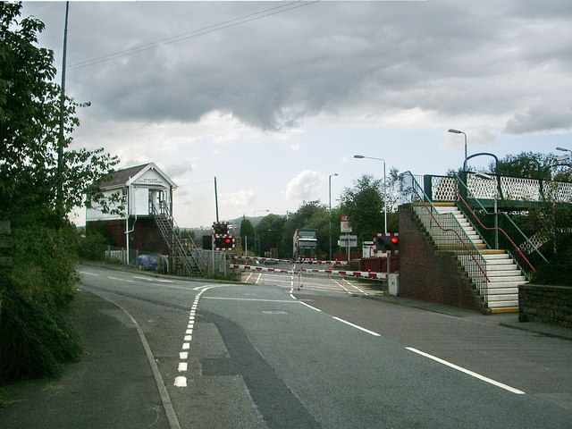 Level crossing at Huncoat