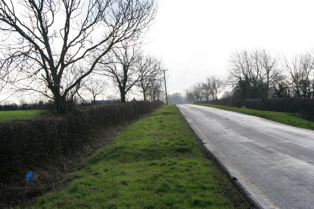 Looking south towards Eastwell