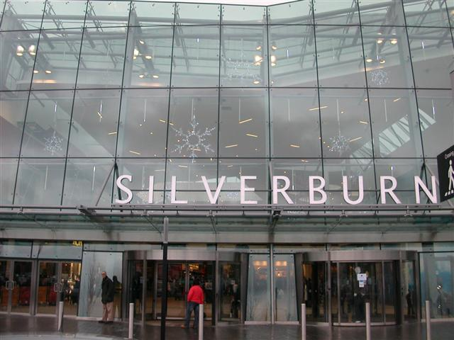 Silverburn Shopping Centre main entrance