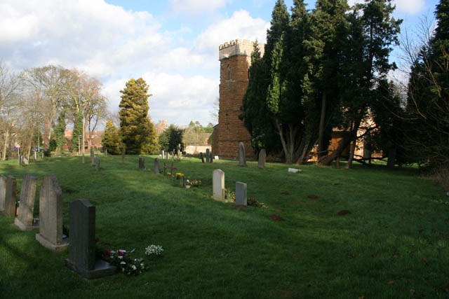 St Michael and All Angels' Church at Eastwell