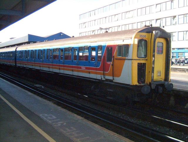 Southampton Central Station.