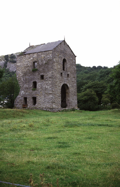 Clive Shaft engine house, Talargoch Mine