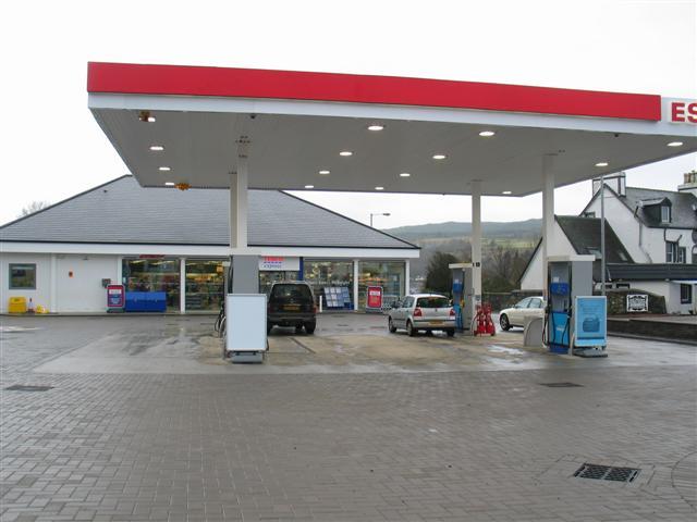 Tesco Filling Station, Lochgilphead